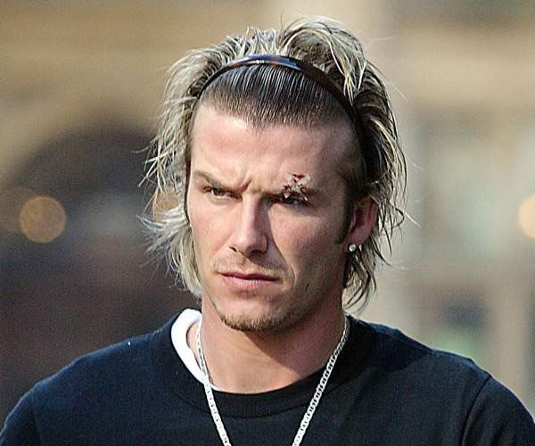 30 Sexy David Beckham Hairstyles - SloDive