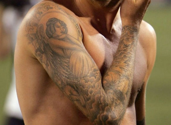 David Beckham Tattoos Sleeve
