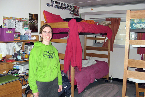 Dorm Room At Kean University