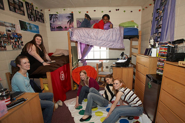 Friends In Dorm