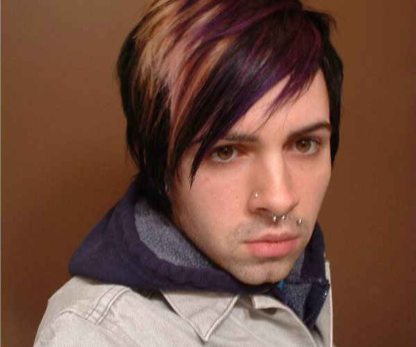 emo hair with highlights 35 Magnificent Emo Hairstyles For Guys