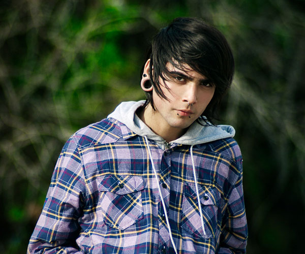 rude 35 Magnificent Emo Hairstyles For Guys