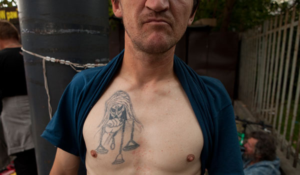 mountain robber gang 30 Exceptional Gang Tattoos