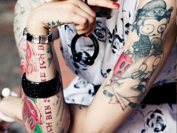 Pleasant Tattoo Design