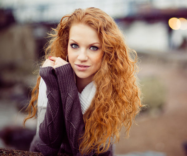 Curly Ginger Hair Red hair 40 exciting