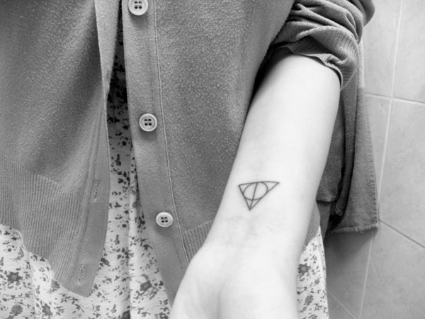 Image result for harry potter wrist tattoos