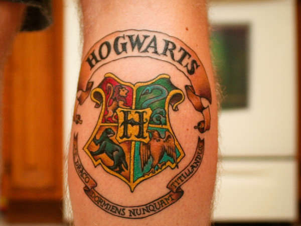 Hogwarts Cool School Crest