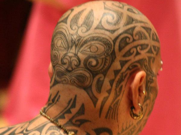 tribal head 25 Artistic Hawaiian Tribal Tattoos