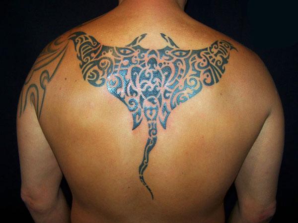 tribal stingray 25 Artistic Hawaiian Tribal Tattoos