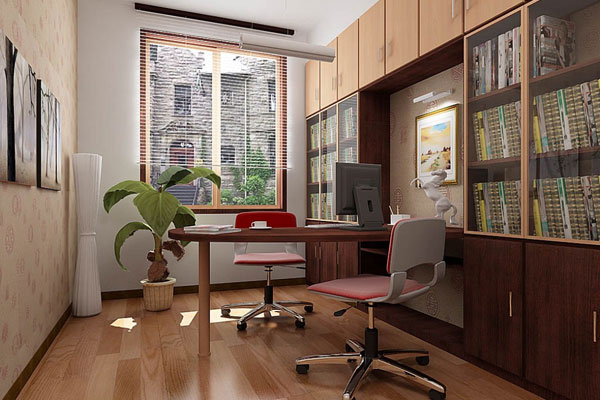 30 Marvelous Home Office Design Ideas - SloDive on unusual home offices, sensational home offices, teal blue home offices, luxurious home offices, pretty home offices, interesting home offices, old style home offices,