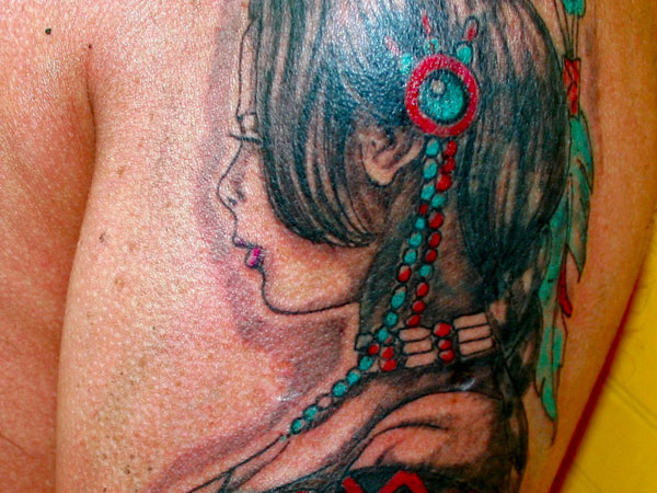 american indian tattoo 35 Impressive Indian Tattoos