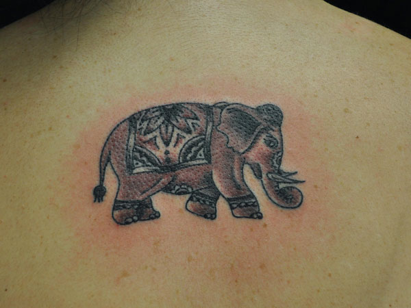 indian elephant tattoo 35 Impressive Indian Tattoos