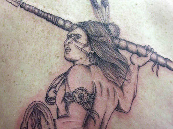 warrior indian tattoo 35 Impressive Indian Tattoos