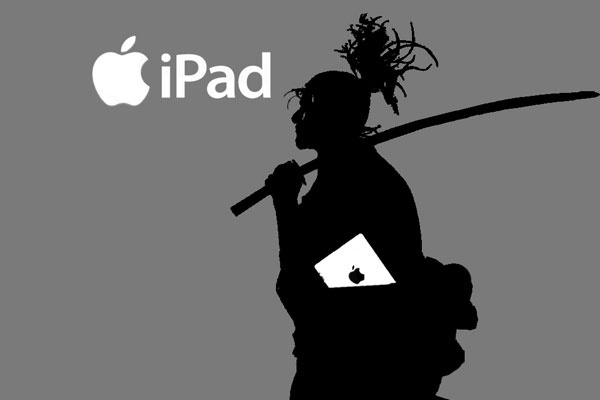 ipad samurai 45 Awesome Collection of iPad Wallpapers