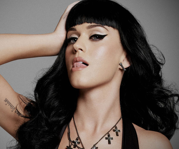 black hair 30 Sexy Katy Perry Hairstyles