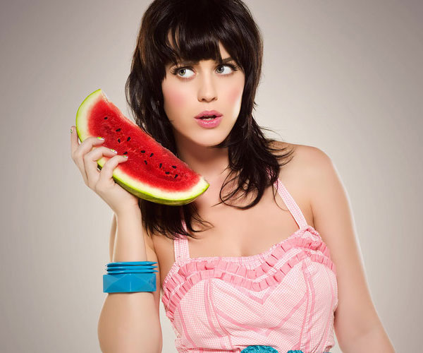 watermellon 30 Sexy Katy Perry Hairstyles
