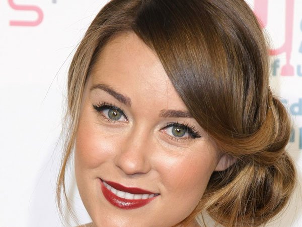 awesome bun hairstyle 30 Exotic Lauren Conrad Hairstyles Part 2