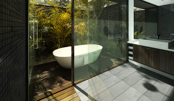 Cool Bathroom Plants 30 oustanding modern bathroom design ideas - slodive
