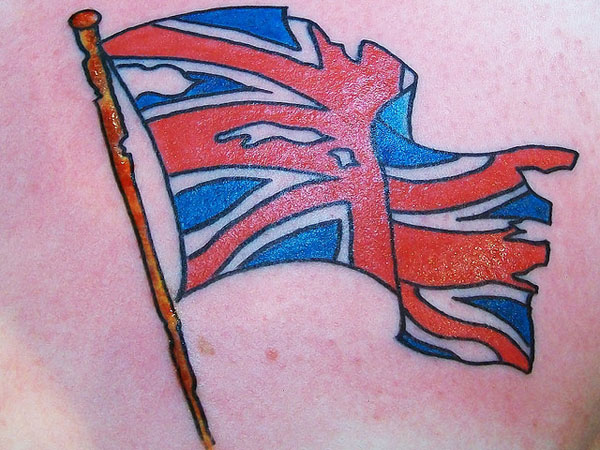Union Jack Tattoo