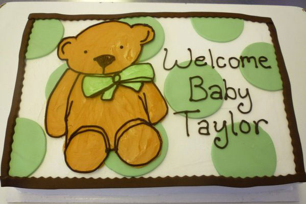 Teddy Welcomes Baby