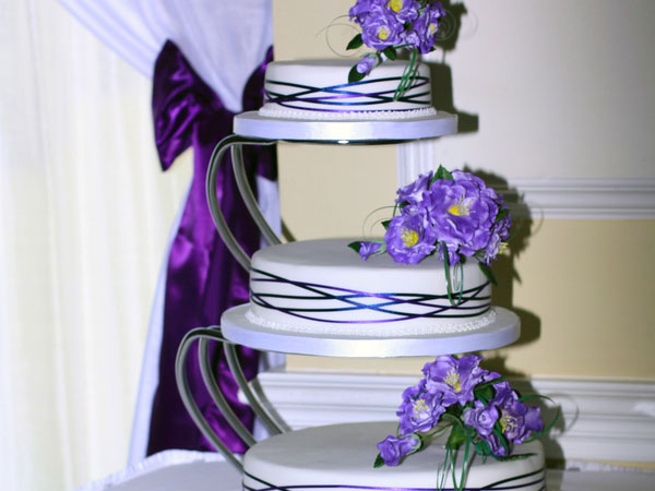 Balanced Wedding Cake