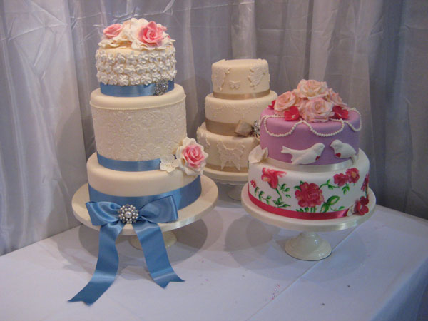 Group Of Wedding Cakes