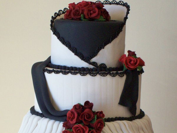 Innovative Wedding Cake