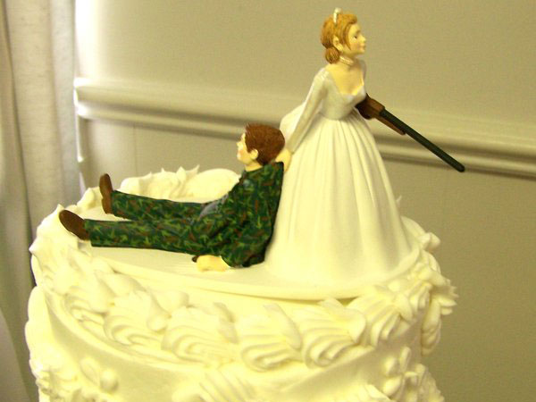 Shotgun Wedding Cake