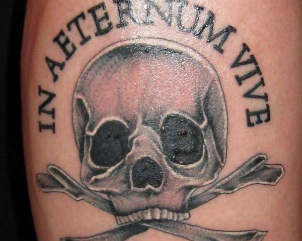 live forever 30 Mind Blowing Pirate Tattoos