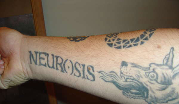 neurosis band tattoo 30 Amazing Prison Tattoos