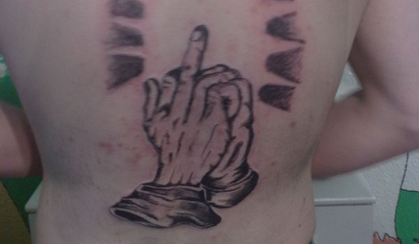 prison hands 30 Amazing Prison Tattoos