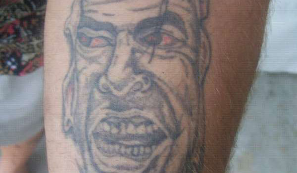 prison man tattoo 30 Amazing Prison Tattoos