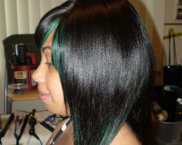 Full Weave Green Touch