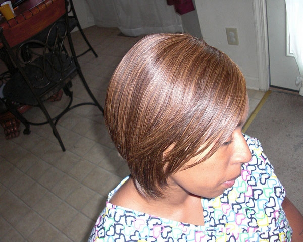 highlighted hairstyle 30 Quick Weave Hairstyles Which Are Astonishing