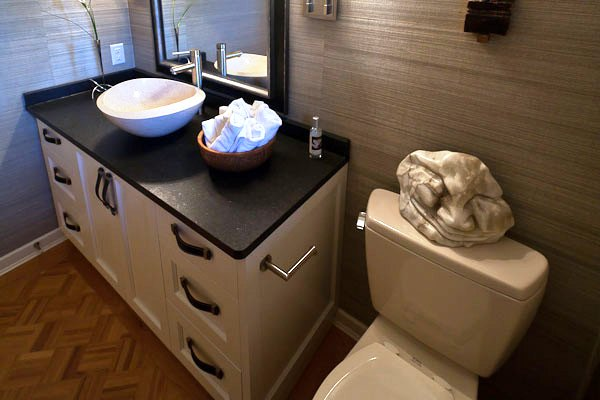 guest bathroom 30 Terrific Small Bathroom Design Ideas