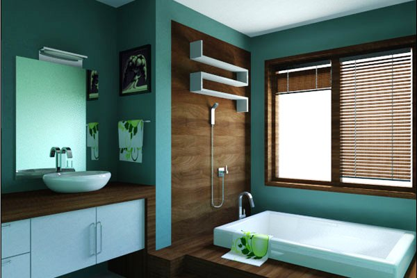 little small bathroom 30 Terrific Small Bathroom Design Ideas