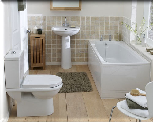 small pretty bathroom - Nice Small Bathroom Designs