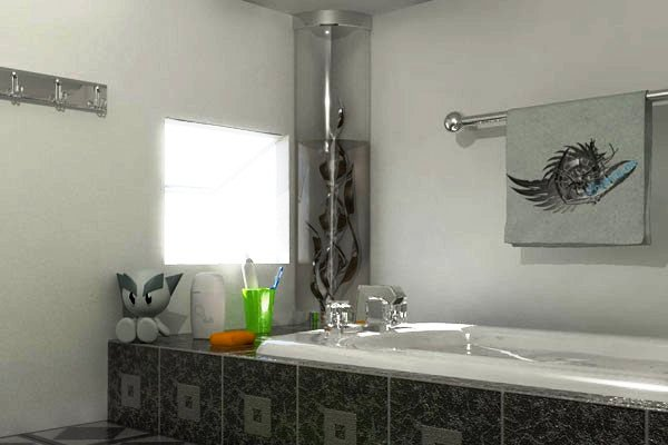 updated bathroom 30 Terrific Small Bathroom Design Ideas