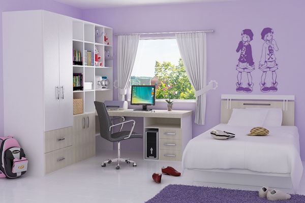 Girl Small Bedroom - 30 Awesome Small Bedroom Ideas - SloDive