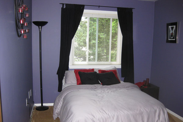 Soothing Small Bedroom