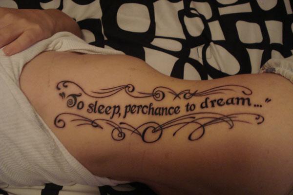 Shakespeare Quote Tattoo