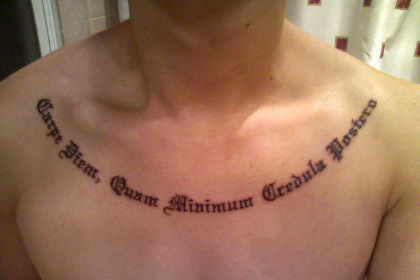 Minimum Tattoo