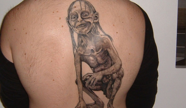 gollum tattoo 35 Ugly Tattoos You Should Avoid