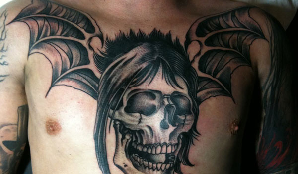 Deathbat Tattoo