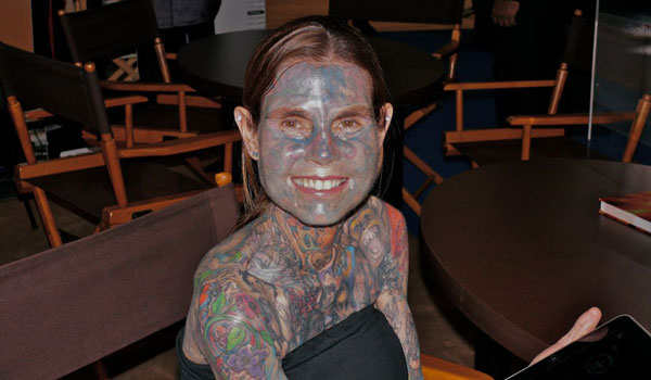Most Tattooed Woman