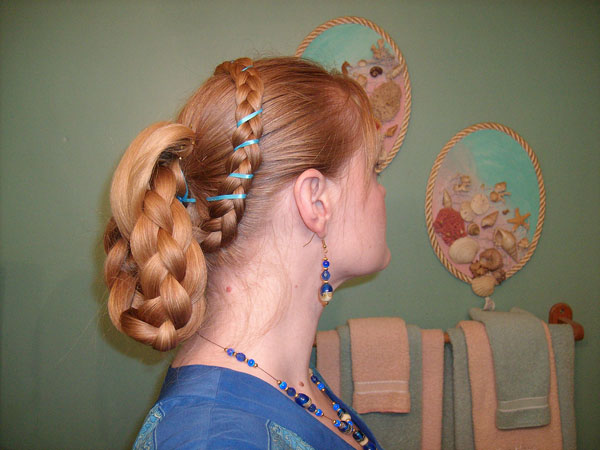 Fancy Victorian Hairstyle