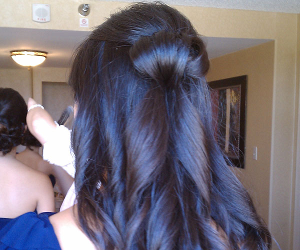 brides maid hair 25 Phenomenal Wedding Hairstyles Down