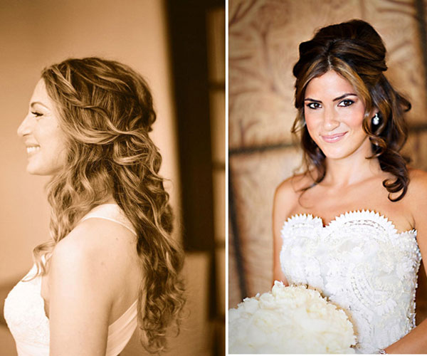 Groovy 25 Phenomenal Wedding Hairstyles Down Slodive Hairstyle Inspiration Daily Dogsangcom