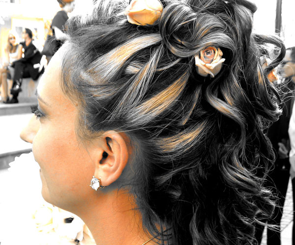 Wood Rose Hairstyle