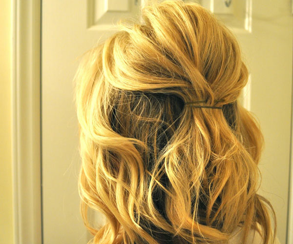 Tremendous 30 Tempting Wedding Hairstyles Half Up Slodive Hairstyle Inspiration Daily Dogsangcom